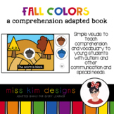 Fall Shapes A Comprehension Adapted Book