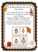 Fall Shapes Beginning Letter Cards