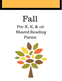 Fall Shared Reading Pack