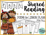 Fall Shared Reading: Poems and Lesson Plans