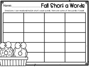 Fall Short a Word Matching