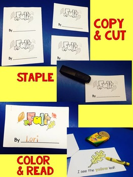 Fall Sight Word Book {Read, Write, and Color}