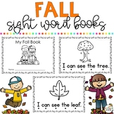 Fall Sight Word Books