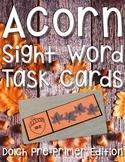 Fall Sight Word Center: Acorn Sight Word Activity Pre-Primer