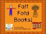 Fall Sight Word Fold Books