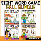 Fall Sight Word Games Bundle