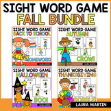 Sight Word Games-Fall Bundle
