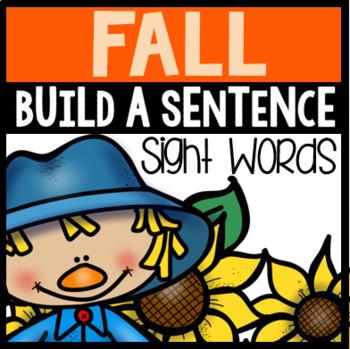 Fall Sight Word Sentences
