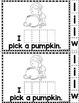 Fall Sight Word Stories Bundle