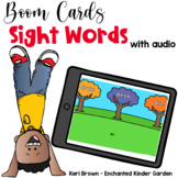 Fall Sight Words - Boom Cards