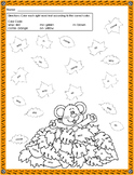 Fall Sight Words Coloring