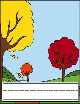 Squirrels & Acorns Fall Sight Words Centers for PreK/K (Pre-primer)