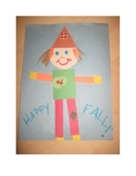 """Fall Silly """"Shaped"""" Scarecrow"""