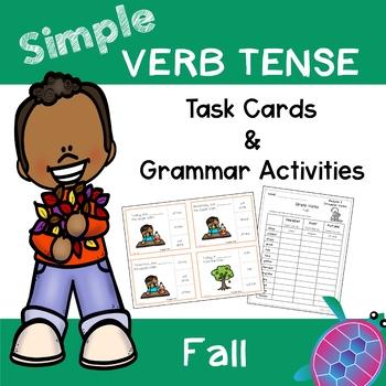 Simple Tense Verbs - Fall