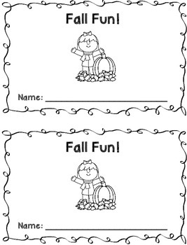 Fall Single Digit Addition & Subtraction Book {FREEBIE}