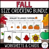 Fall Size Ordering Bundle for Autumn from Smallest to Largest