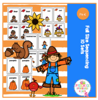 Fall Size Sequencing Cards