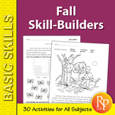 Fall Skill-Builder Activities for All Subjects