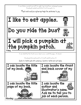 Fall Skills Packet, Homework, 8-Step Process, Common Core Standards