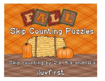 Fall Skip Counting