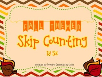 Fall Skip Couting by 5