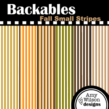 Fall Small Stripes Backables