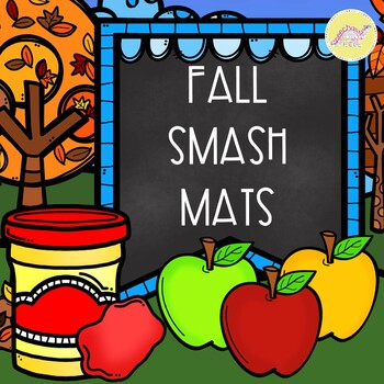 Fall Smash Mats for Speech and Language