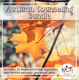 Fall Social Emotional Counseling Activity Bundle