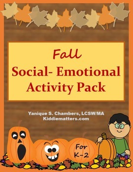Teaching Social Emotional Skills Fall Activity Pack
