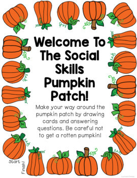 Fall Social Skills Review Game