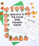 Social Skills Review Game - Fall Themed