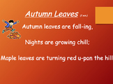 Fall Song Collection (A Great Collection of Songs for Back to School)