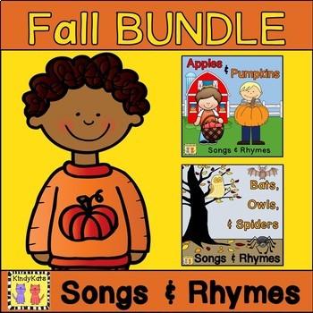 Fall Songs & Rhymes BUNDLE