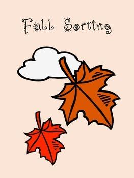 Fall Sorting Activity
