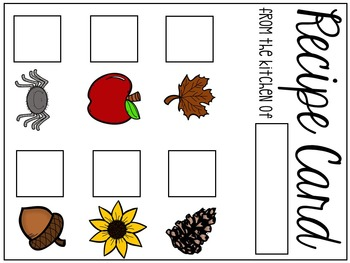 Fall Soup Pretend Play Resources