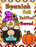 Fall Spanish ABC Cut and Paste