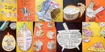 Spanish Interactive Notebook Activities:  El Otoño