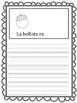 Fall Spanish writing activity