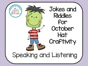 Fall Speaking and Listening Jokes and Riddles for October