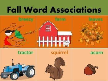 Fall Speech Language Activities Bundle