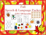 Fall Speech & Language Packet