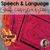 Fall Speech Therapy | Book Companion Speech and Language
