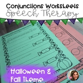Fall Speech and Language Activities | Grammar Worksheets