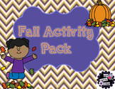 #Oct2017slpmusthave NO PREP Fall/Halloween Speech and Lang