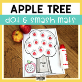 Fall Speech and Language Apple Tree Dot-It Activity