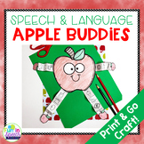 Fall Speech and Language Craft with an Apple Theme