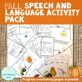 Fall Speech and Language Packet