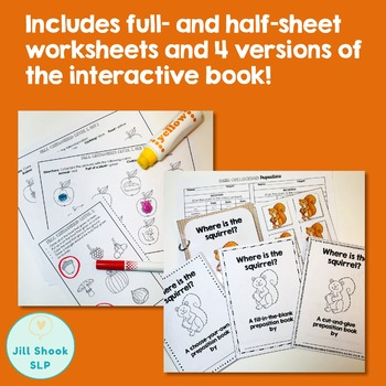 Fall Speech and Language Activity Pack- Low Prep!