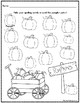 Fall Spelling Worksheets!