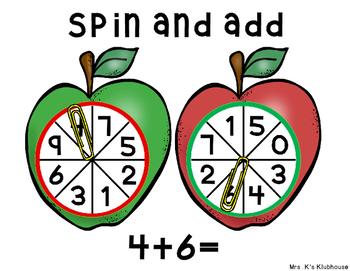 Fall Spin and Add Freebie